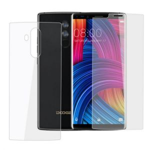 Original Anti-Explosion Front And Back Tempered Glass Screen Protector For DOOGEE MIX 2