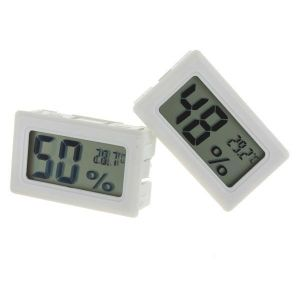 פיפו - קניות אונליין ובמהירות גאדג׳טים Mini Digital LCD Thermometer Humidity Meter Gauge Hygrometer Indoor