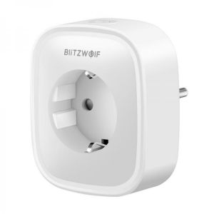 BlitzWolf® BW-SHP2 16A Smart WIFI Socket 220V EU Plug Work with Amazon Alexa Google Assistant Compatible with BlitzWolf Tuya APP